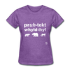 Protect Wildlife T-Shirt - purple heather