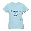 Espresso T-Shirt - powder blue