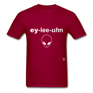 Alien T-Shirt - dark red