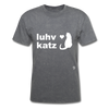 Love Cats T-Shirt - mineral charcoal gray