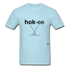 Hockey T-Shirt - powder blue