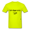 Fajitas T-Shirt - safety green