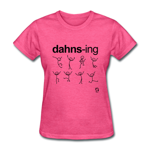 Dancing T-Shirt - heather pink