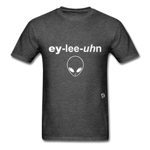 Alien T-Shirt - heather black
