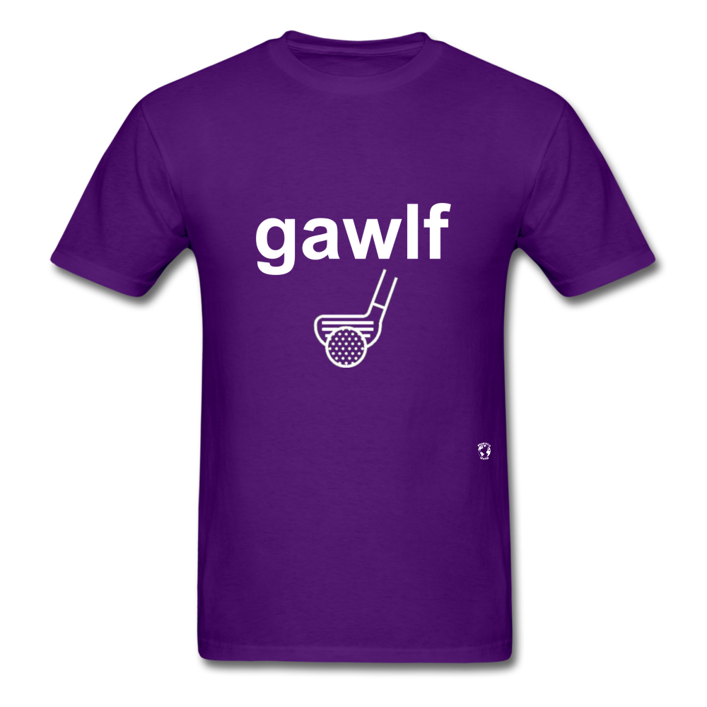 Golf T-Shirt - purple