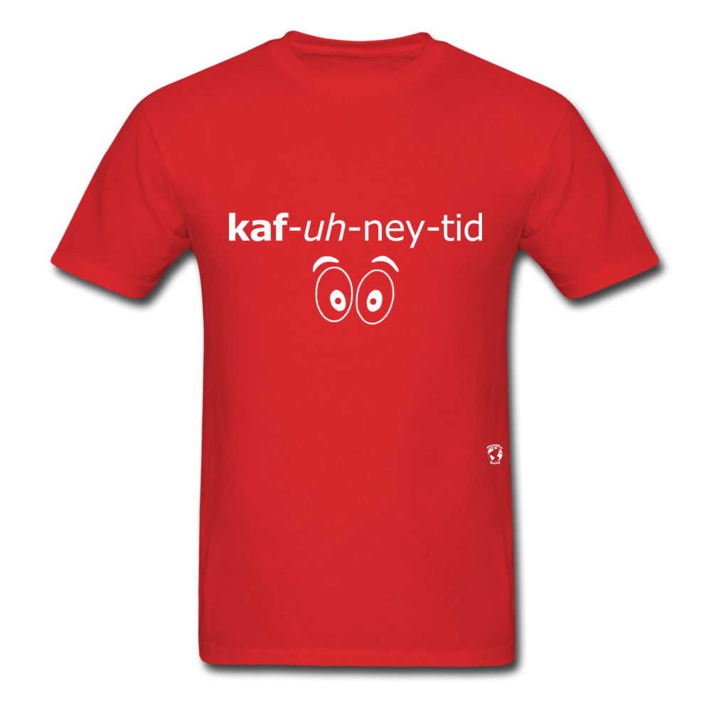 Caffeinated T-Shirt - red