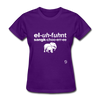 Elephant Sanctuary T-Shirt - purple