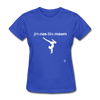 Gymnastic's Mom T-Shirt - royal blue