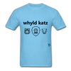 Wild Cats T-Shirt - aquatic blue