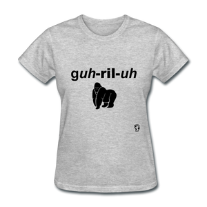 Gorilla T-Shirt - heather gray