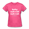 Que Sera Sera T-Shirt - heather pink