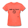 Volleyball T-Shirt - heather coral