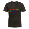Can't Think Straight T-Shirt - mineral black
