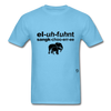 Elephant Sanctuary T-Shirt - aquatic blue