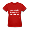 Protect Wildlife T-Shirt - red