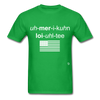 American Loyalty T-Shirt - bright green
