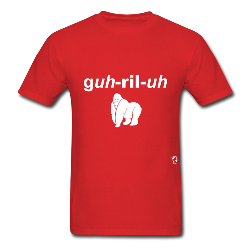 Gorilla T-Shirt - red