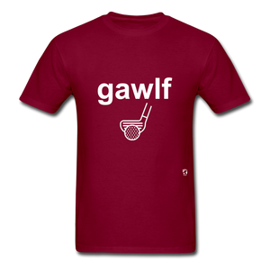 Golf T-Shirt - burgundy
