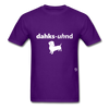Dachshund T-Shirt - purple