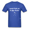 Walk Like an Egyptian T-Shirt - royal blue