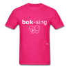Boxing T-Shirt - fuchsia