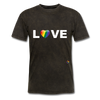 Love T-Shirt - mineral black