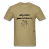 I Love Unicorns T-Shirt - khaki