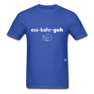 Escargot T-Shirt - royal blue
