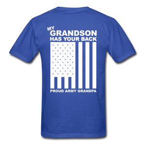 Army Grandpa T-Shirt - royal blue