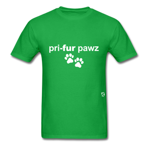 Prefer Paws T-Shirt - bright green