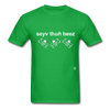 Save the Bees T-Shirt - bright green