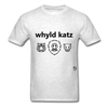 Wild Cats T-Shirt - light heather grey