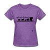 Elephants T-Shirt - purple heather