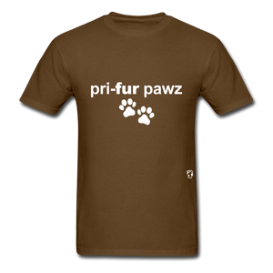 Prefer Paws T-Shirt - brown