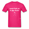Walk Like an Egyptian T-Shirt - fuchsia