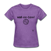 Volleyball T-Shirt - purple heather
