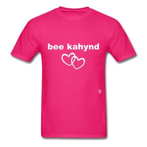 Be Kind T-Shirt - fuchsia