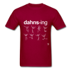 Dancing Shirt - dark red