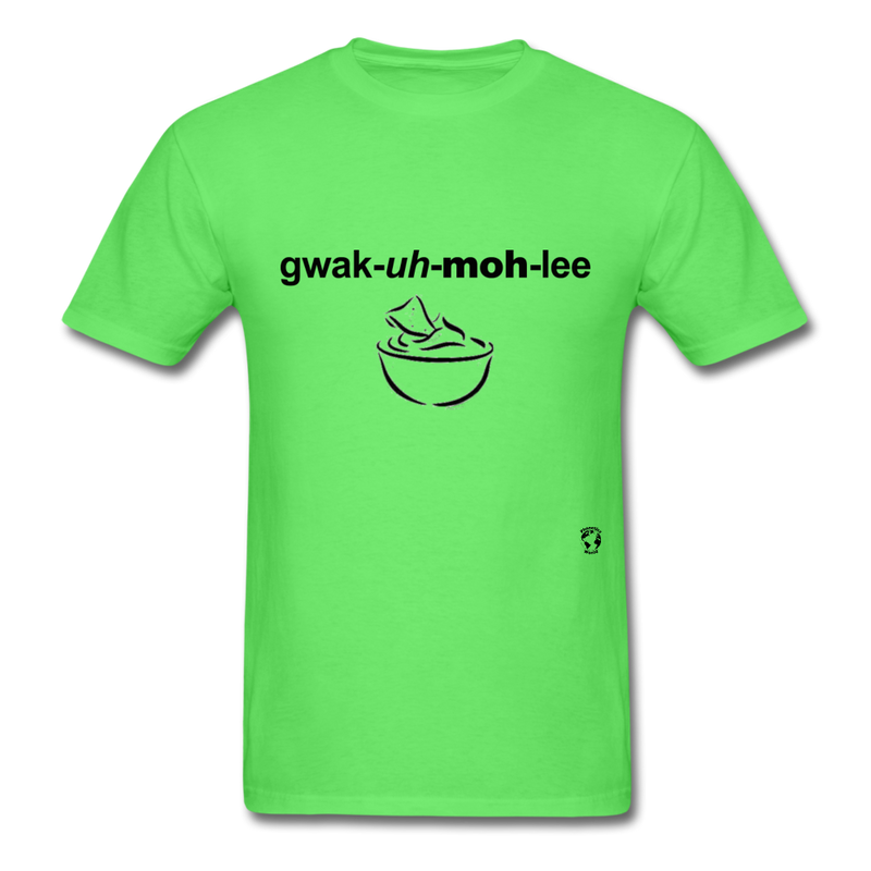 Guacamole T-Shirt - safety green
