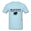 Elephant Sanctuary T-Shirt - powder blue