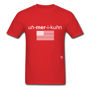American T-Shirt - red