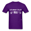 America T-Shirt - purple