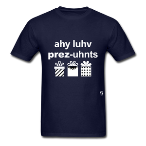 I Love Presents T-Shirt - navy