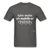 Love One Another T-Shirt - charcoal