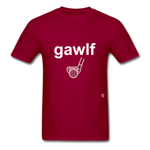 Golf T-Shirt - dark red