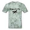 Dragonfly T-Shirt - military green tie dye