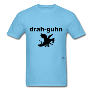 Dragon T-Shirt - aquatic blue
