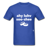 I Love Sushi T-Shirt - royal blue