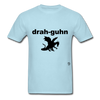 Dragon T-Shirt - powder blue