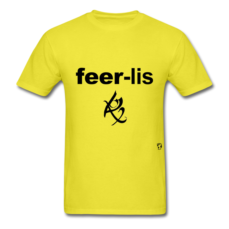 Fearless T-Shirt - yellow